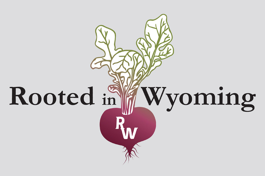 Rooted in Wyoming Logo